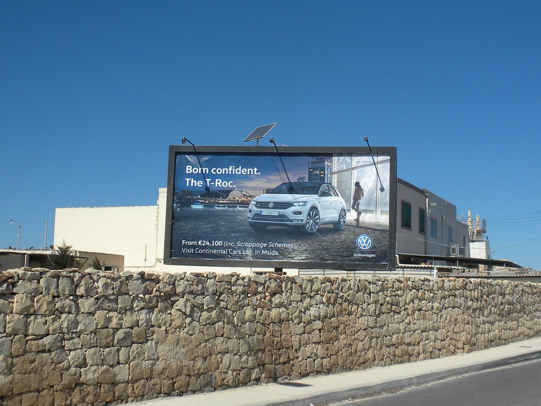 San Gwann Billboard