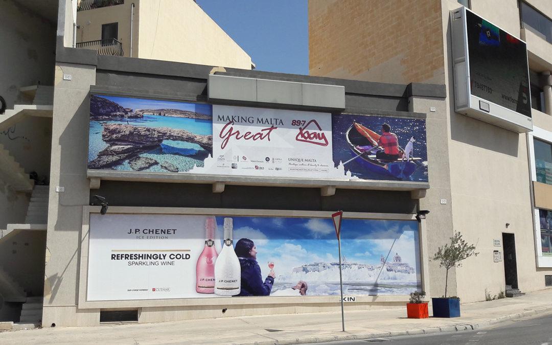 Mega Billboard Bottom – Msida University Roundabout | Outdoor Advertising